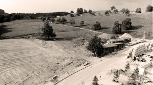 1975 Aushub der WBG - Untergrund für Tennisanlage