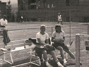 1980 Damendoppel mit Dana und ?