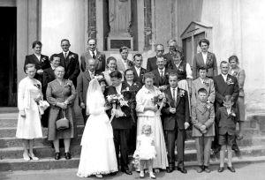 Hochzeit Melchior und Margrith Kessler-Haemmerli